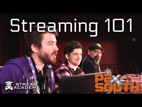 Streaming 101: Creating a One Year Business Plan - Stream-Academy.com PAX South 2016