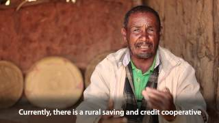 Farmer Benefits From Banking in Ethiopia