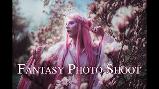 Spring Fairy - Fantasy Photo Shoot