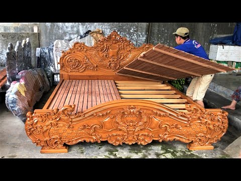 Ingenious Woodworking Skills Extremely Talented Worker // Artistic Pinnacle Wooden Furniture Design