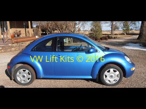 How to lift a VW Beetle MK4 with Stage 1 Lift Kit * Volkswagen Off Road