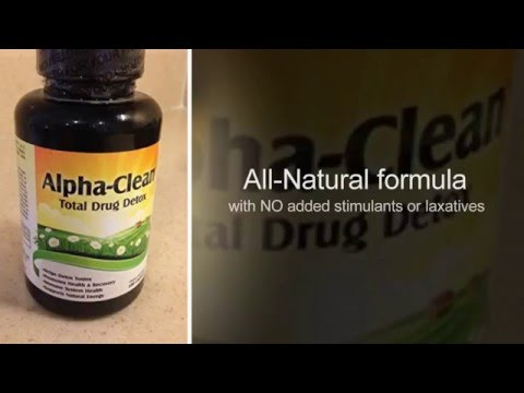 Alpha Clean: Herbal Home Drug Detox/Cleanse