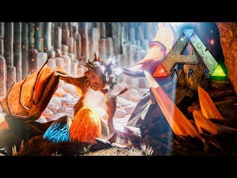 ARK RAGNAROK #9 | WYVERN DRAGONS vs TITANOSAUR