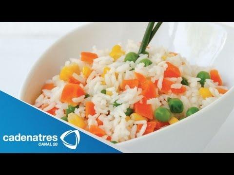 preparación de diferentes tipos de arroz