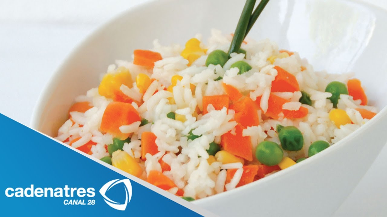 Receta para preparar arroz. Receta de arroz / Tips de cocina ...