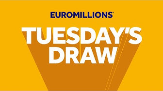 The National Lottery 'EuroMillions' draw results from Tuesday 3rd March 2020