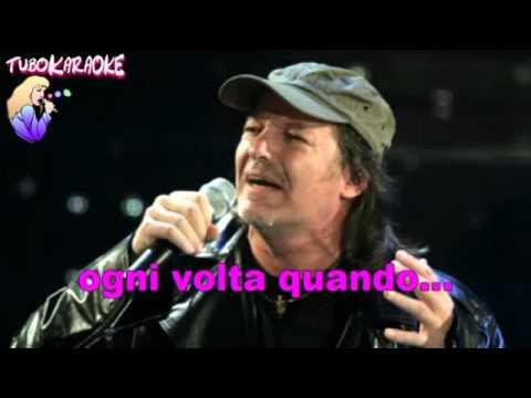 Vasco Rossi  Ogni Volta   Karaoke