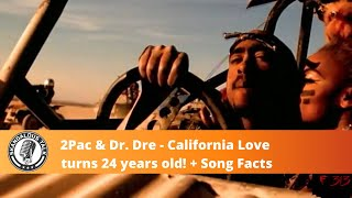 2Pac & Dr. Dre's California Love Song Turns 24 years old + Song Facts | DJ Skandalous Talk