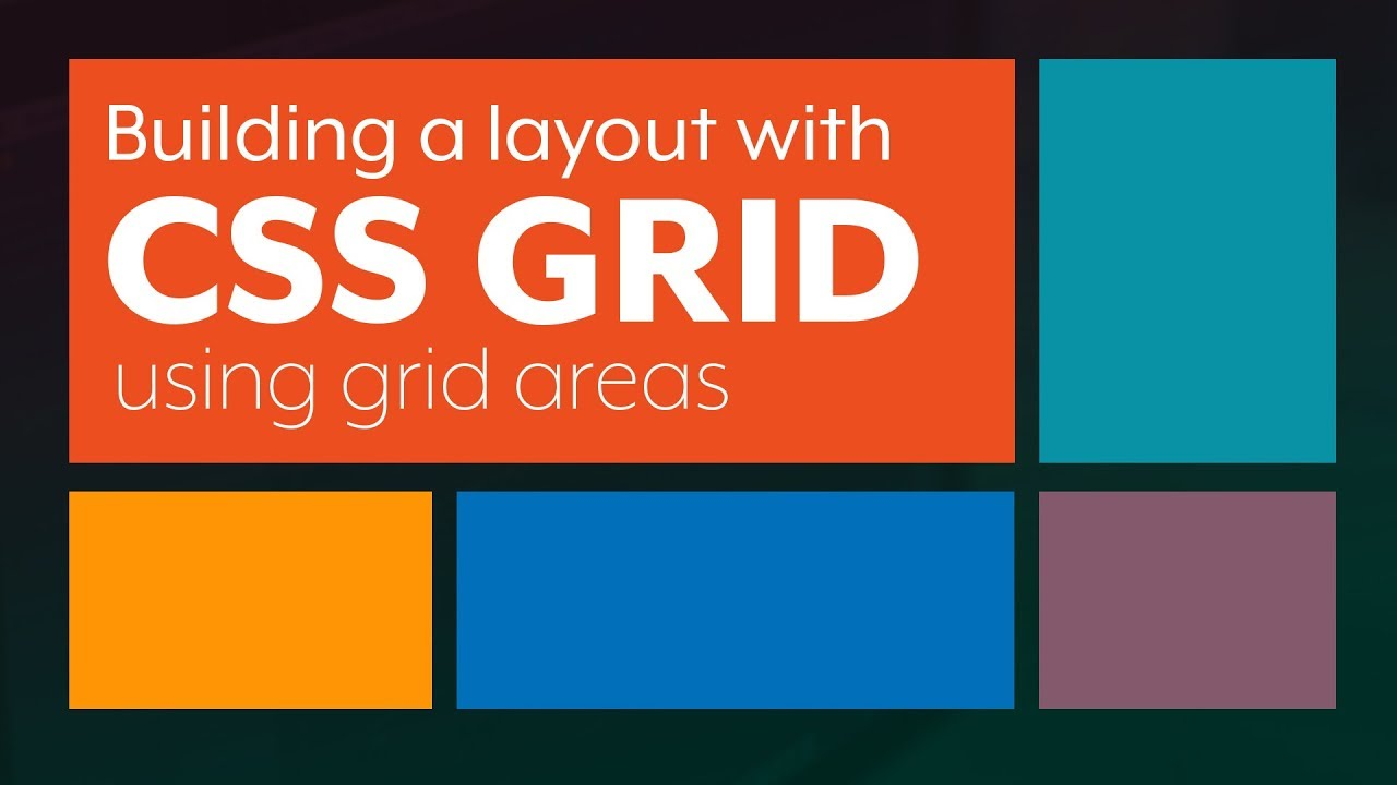 creating a nice layout css grid layout using grid template areas