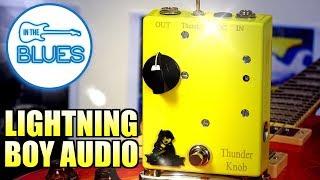 Lightning Boy Audio Thunder Knob 12AX7 Tube Distortion Pedal