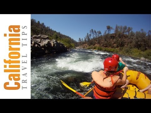 GoPro Camera Test - American River Rafting