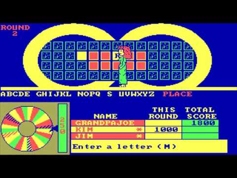 Wheel of Fortune 2nd Edition (MS-DOS)