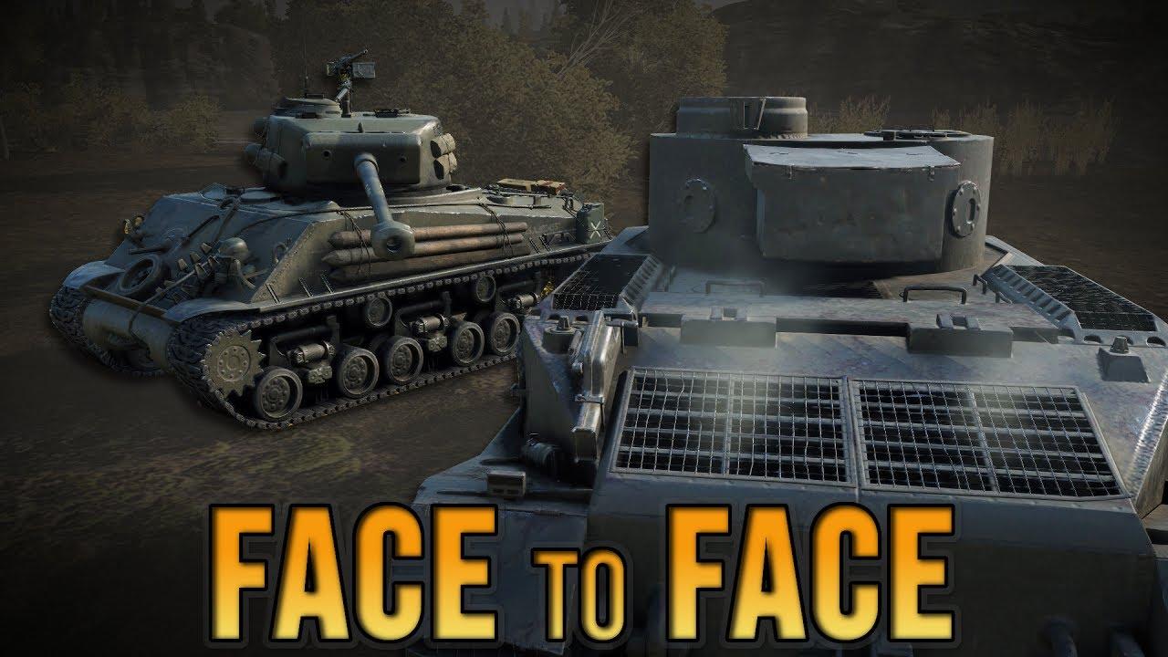 ⚡️World of Tanks 𝐅𝟐𝐅 #𝟏: TIGER vs 3 SHERMANS (Fury Battle Scene)