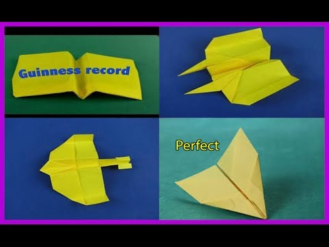 ultimate paper airplanes collection youtube