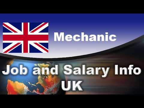 Mechanic Job And Salary In The UK - Jobs And Wages In The United Kingdom