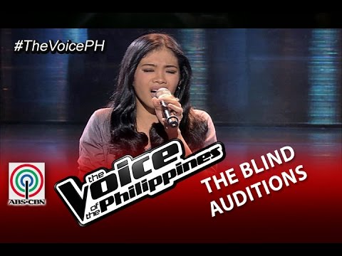 "The Voice of the Philippines Blind Audition ""Sabihin Mo Na"