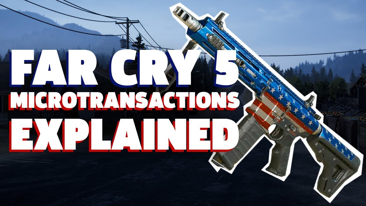 How Far Cry 5 S Microtransactions Work Youtube