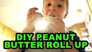 DIY Peanut Butter Roll Up