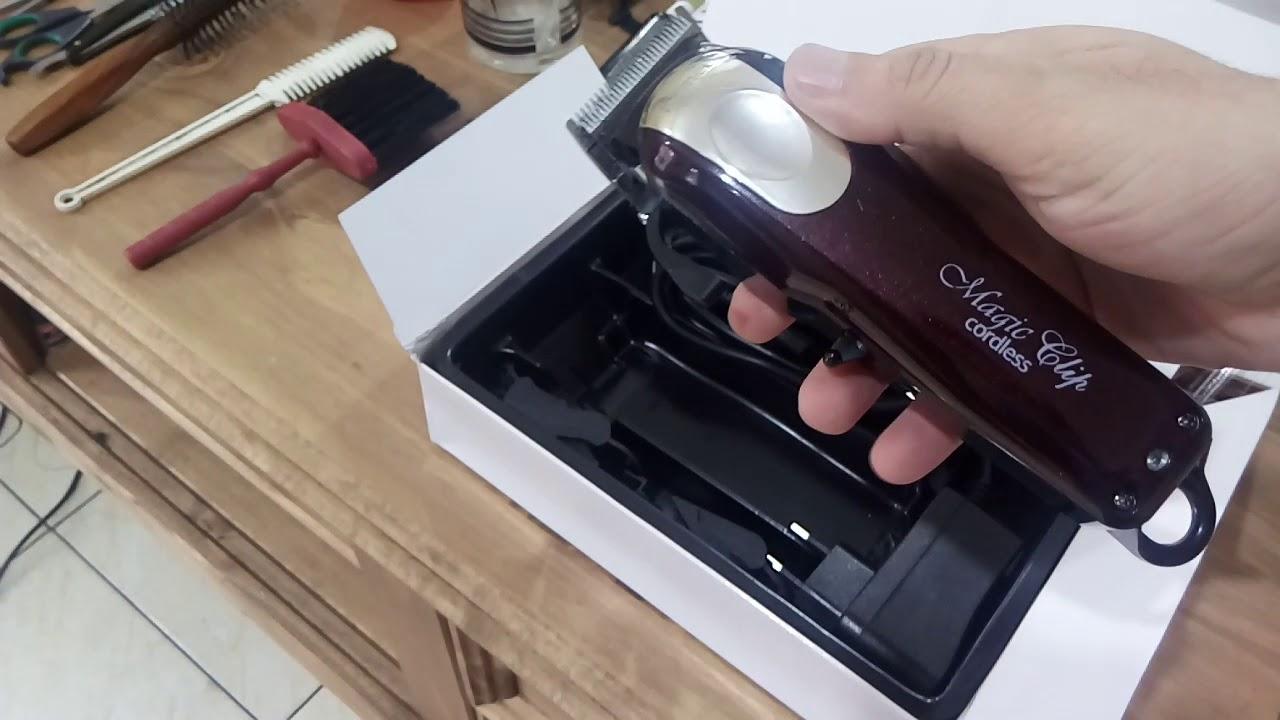 b4b378b5b Máquina de cortar cabelo. Réplica da Wahl Magic Clip - YouTube