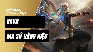 Kayn Ma Sứ Hàng Hiệu (Nightbringer Kayn Prestige Edition) | Liên Minh Huyền Thoại 11.19