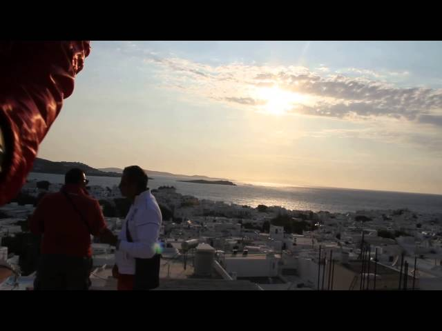 Mykonos - Sunset Arriving my Sunset Spot