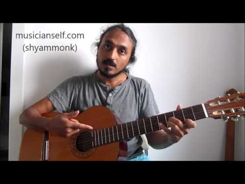 Ilayaraja Song Ilayanila (Neele Ambar) On Guitar: The Usual Mistakes (Delay, Upstroke, Fingering)