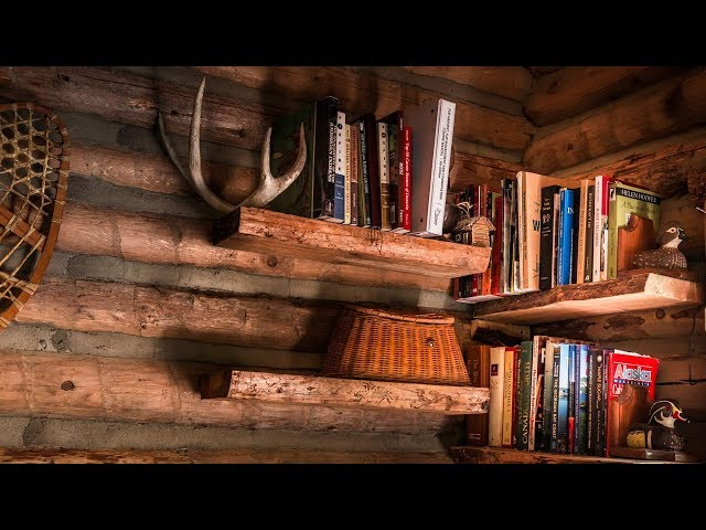 DIY: Make and Install Floating Shelves with Free Materials