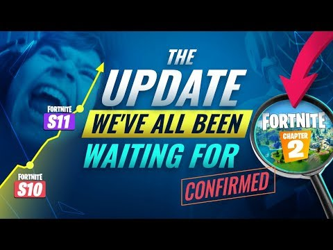 WHY FORTNITE Chapter 2 Will Be The *GREATEST* Update EVER In Fortnite History!