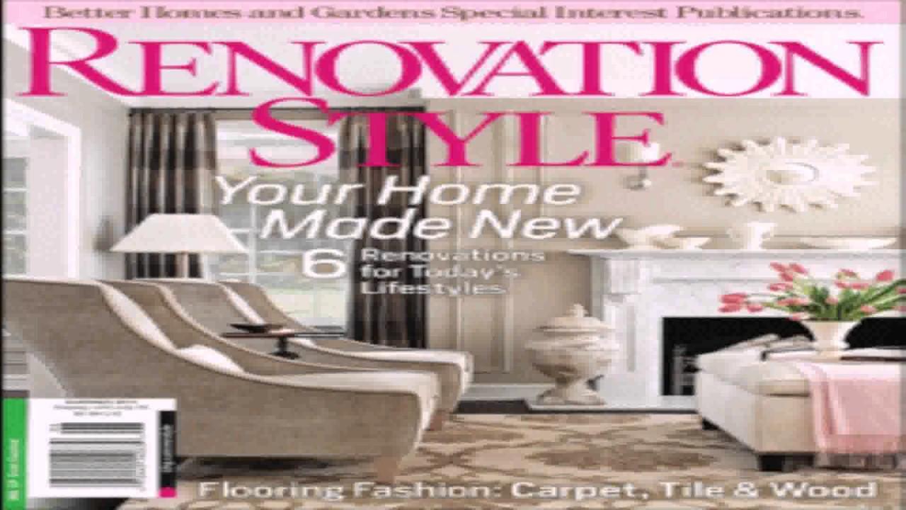 House Style Of Magazine