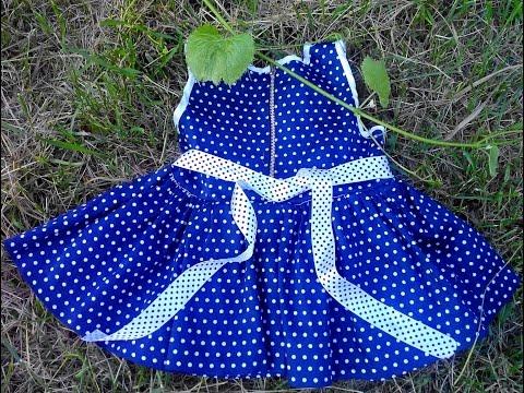 Пошив детского платья за вечер