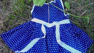 Пошив детского платья за вечер(, 2016-07-03T14:51:51.000Z)