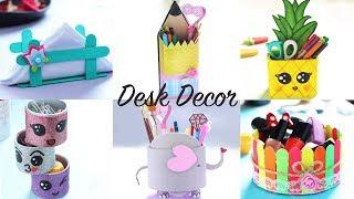 DESK ORGANIZATION IDEAS | Desk Organizer | Desk Decor