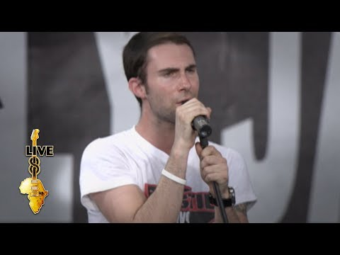 Maroon 5  - She Will Be Loved (Live 8 2005)