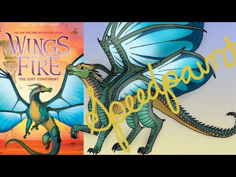 how to draw wings of fire