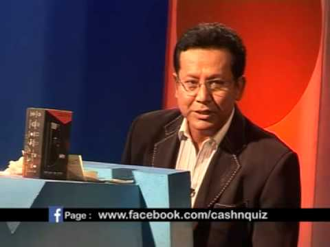 Cash N Quiz 7 Episode with Dinesh DC N Medina Joshi