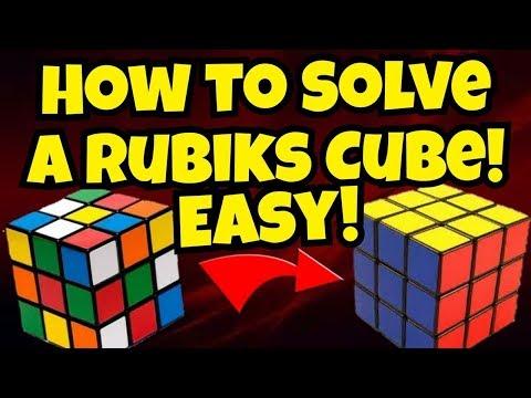 How To Solve A 3x3x3 Rubik's Cube: Easiest Tutorial    रूबिक्स क्यूब को कैसे हल करे,सबसे सरल तरीक़ा।