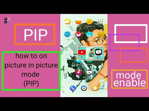 How to enable picture in picture mode (PIP)||YouTube vanced PIP mode||