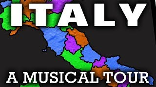 Italy Song for Kids | Learn About Italian Regions & Geography (2018)