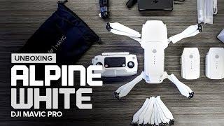 Unboxing the DJI Mavic Pro Alpine White Combo