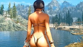 Repeat youtube video Skyrim Ultra Realistic Graphics Mod Part 1 - 1080p HD