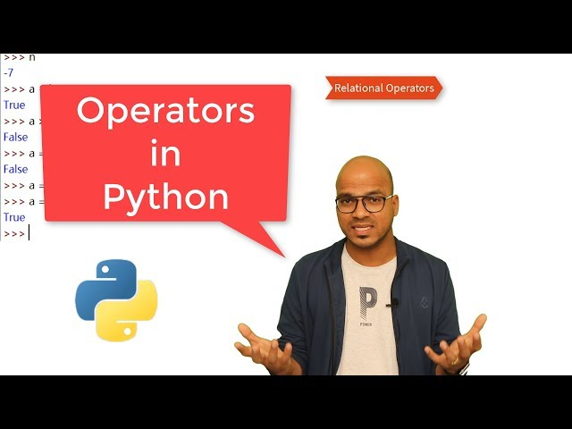 #11 Python Tutorial for Beginners   Operators in Python