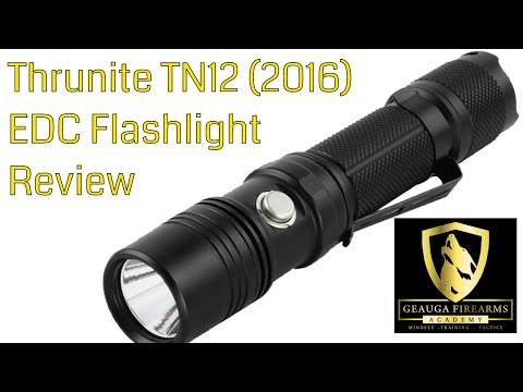 Thrunite TN12 EDC Flashlight Review | Pass or Fail?