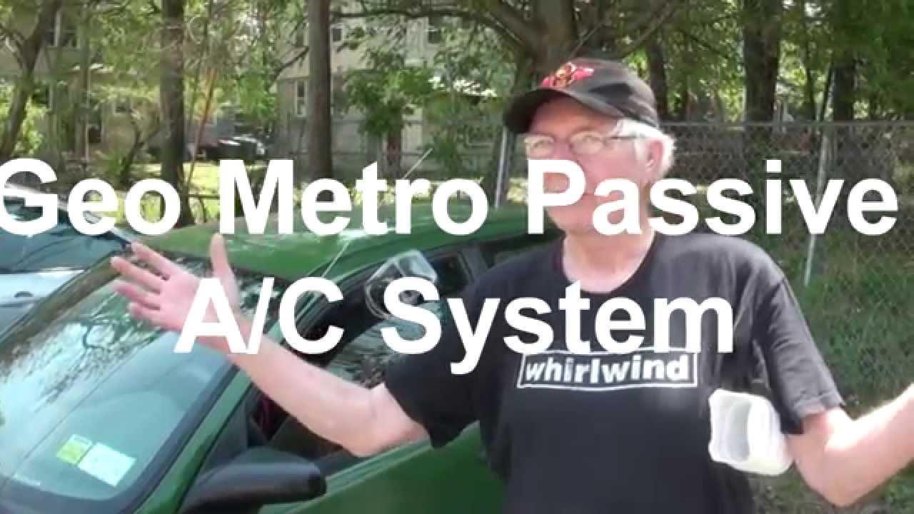 Geo Metro Passive A C System Youtube 1992 Xfi 10 Engine Diagram