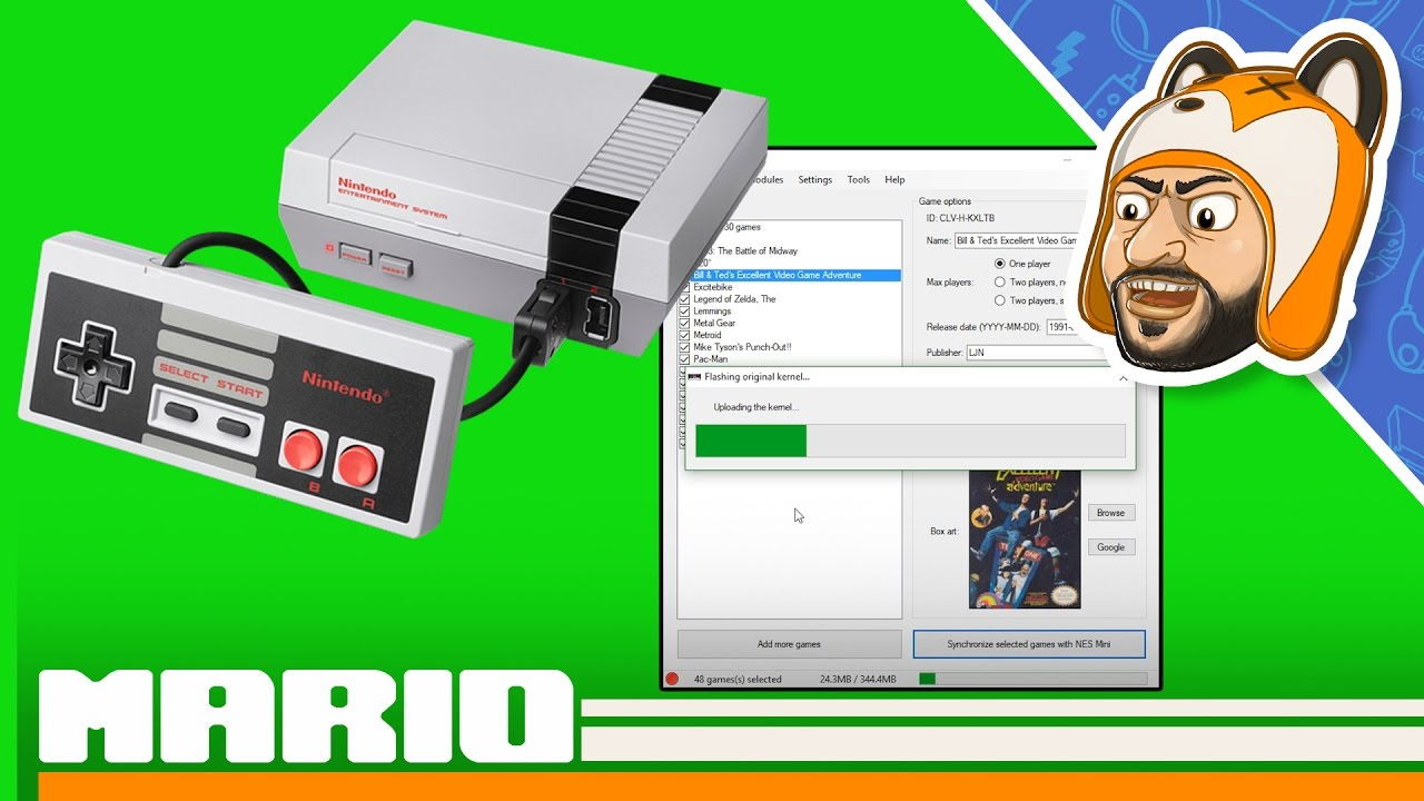 How to add more games to NES Classic Mini (Hacking …
