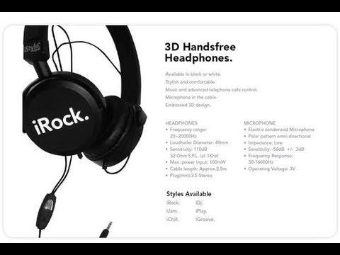 iRock Headphones
