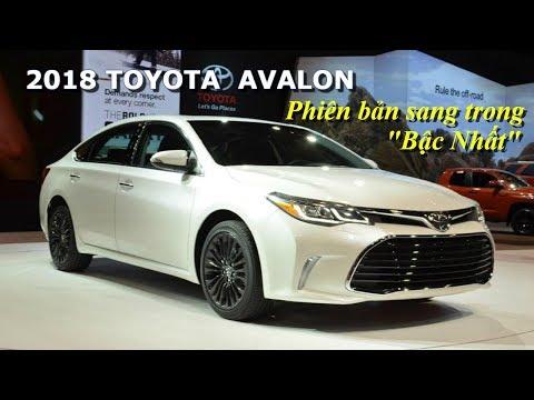 [Xe Toyota đẹp] 2018 Phiên bản Toyota Avalon sedan sang trọng