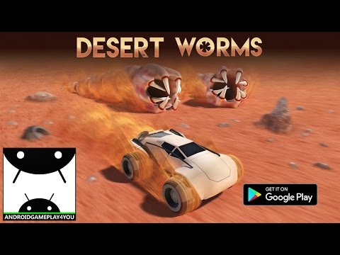 Desert Worms Android GamePlay Trailer [1080p/60FPS] (By Devm Games SE)