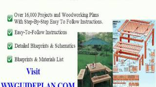 Folding Wood Table Plans
