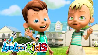 Head, Shoulders, Knees and Toes - THE BEST Songs for Children | LooLoo Kids