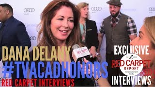 Dana Delany, host of #TVAcadHonors interviewed at the 10th Annual Television Academy Honors
